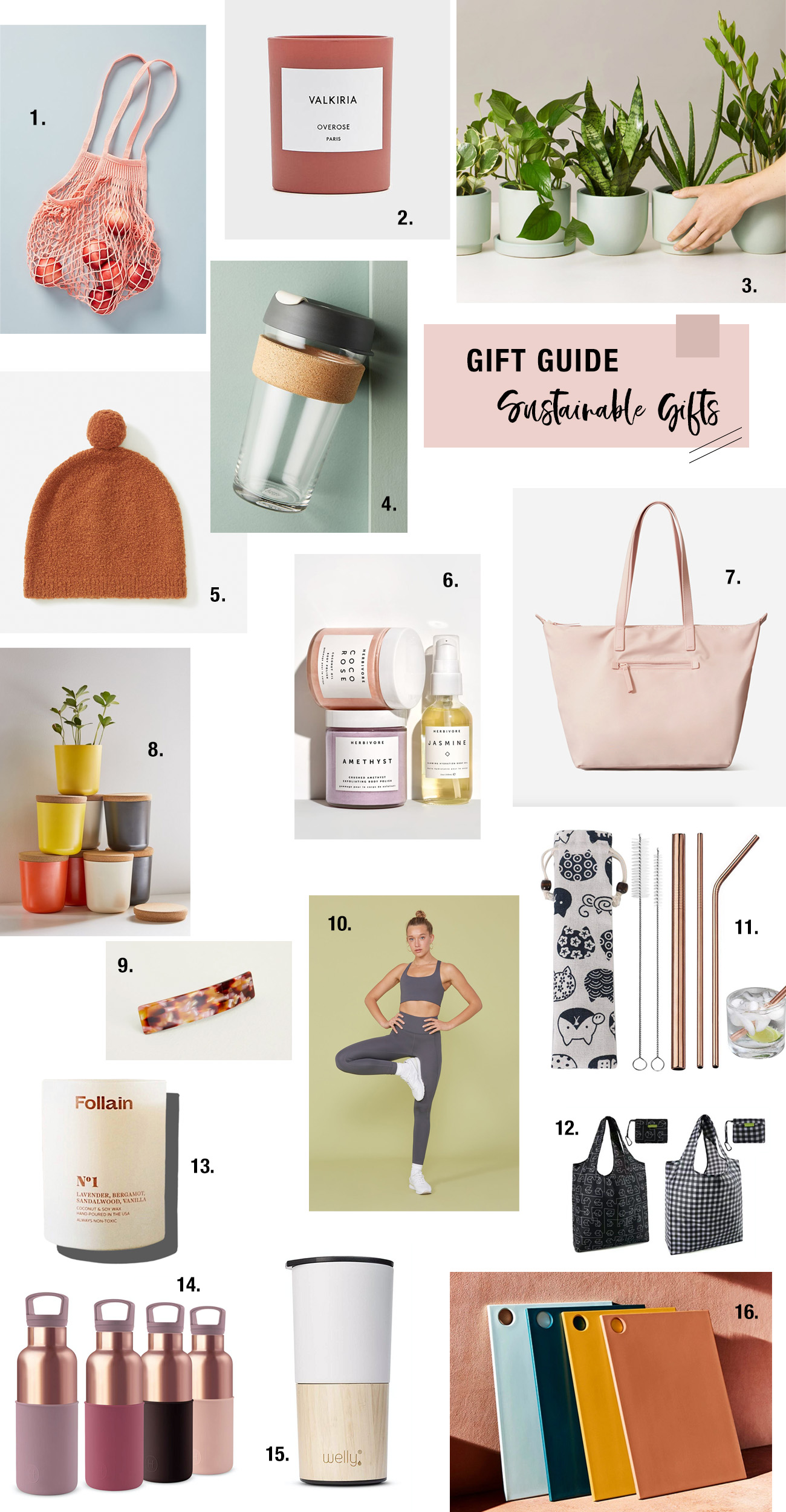 Sustainable Gift Guide ? The Best Eco-Friendly Gifts of 2019