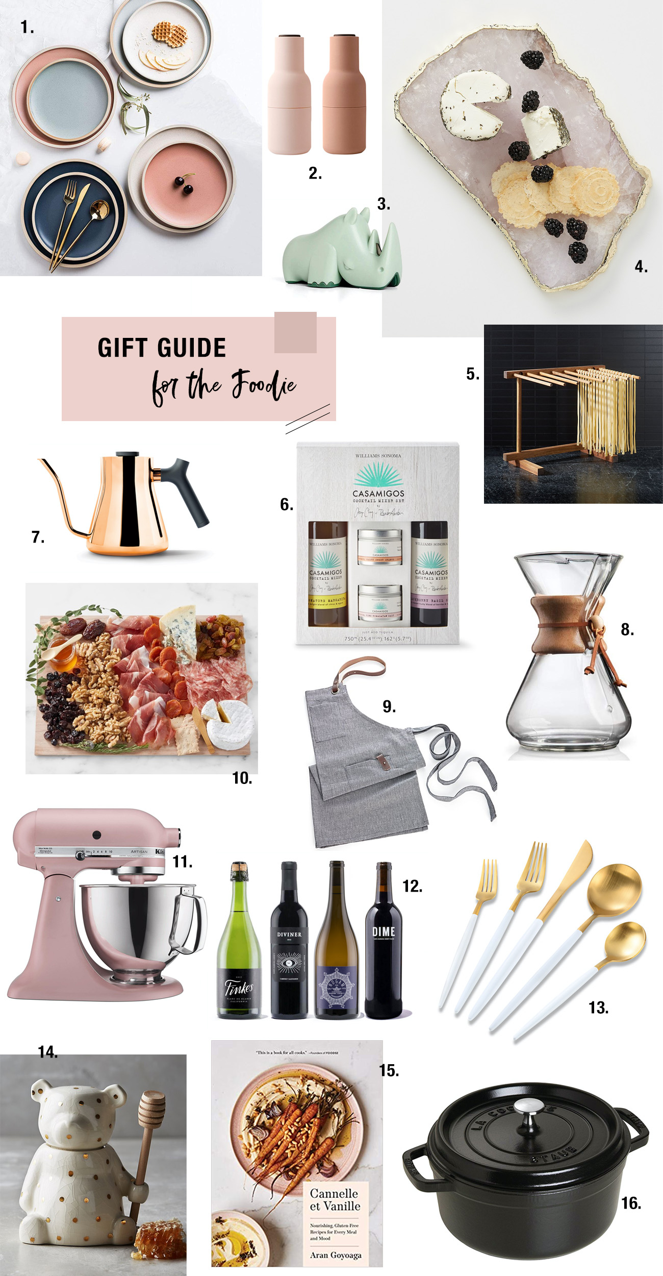 2019 Gift Guide for the Foodie