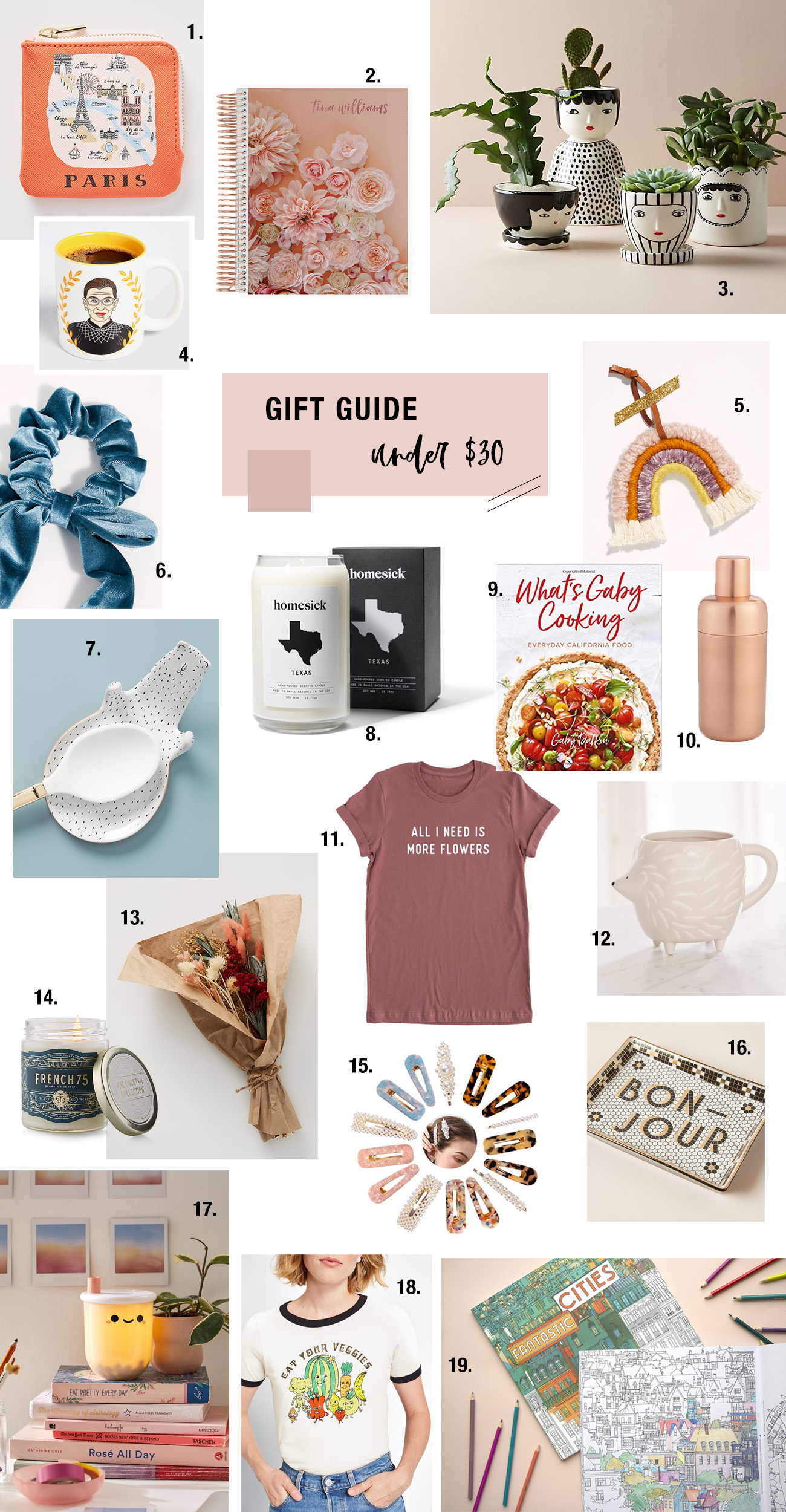 2019 Under $30 Gift Guide