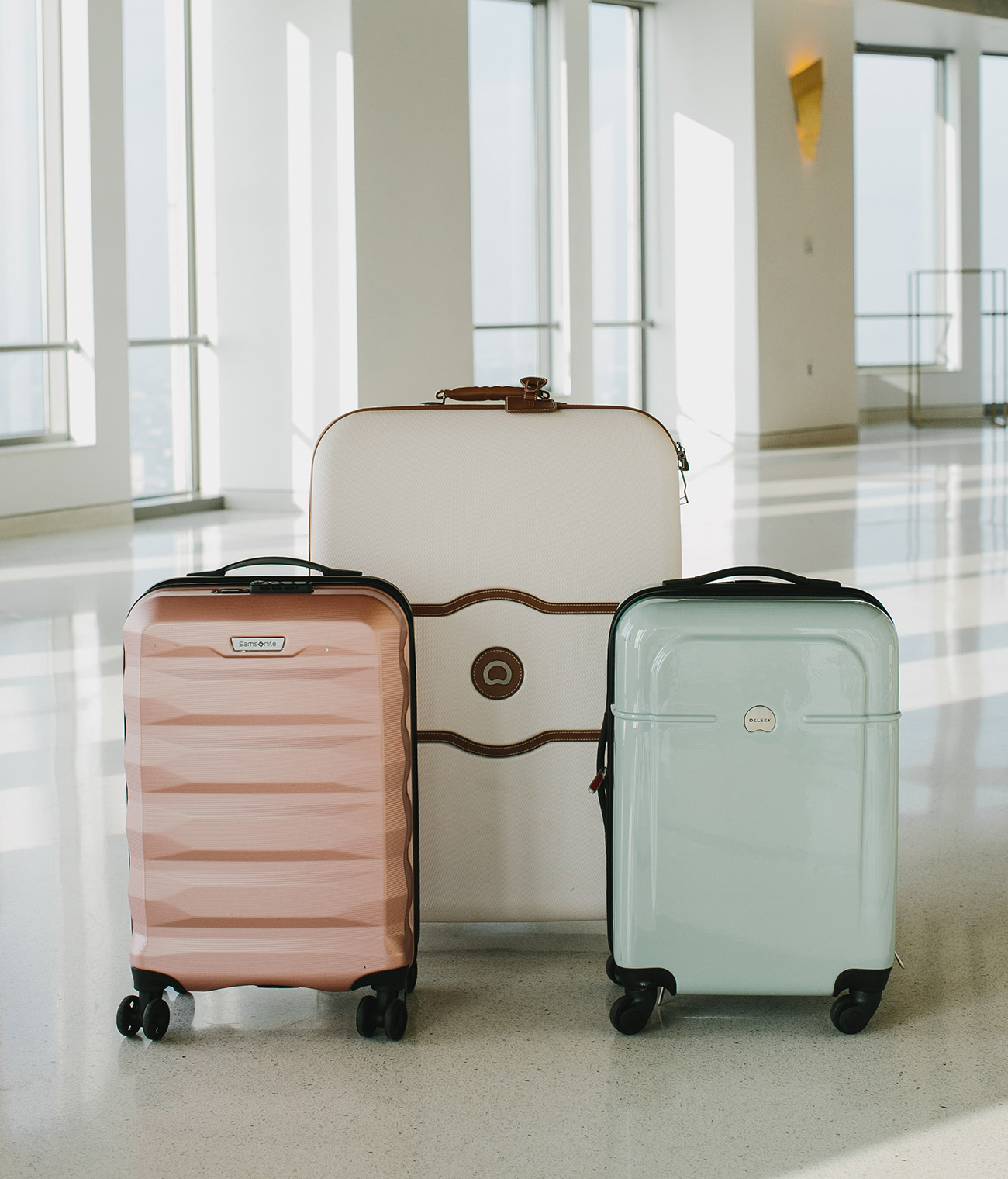 suitcases for wedding registry