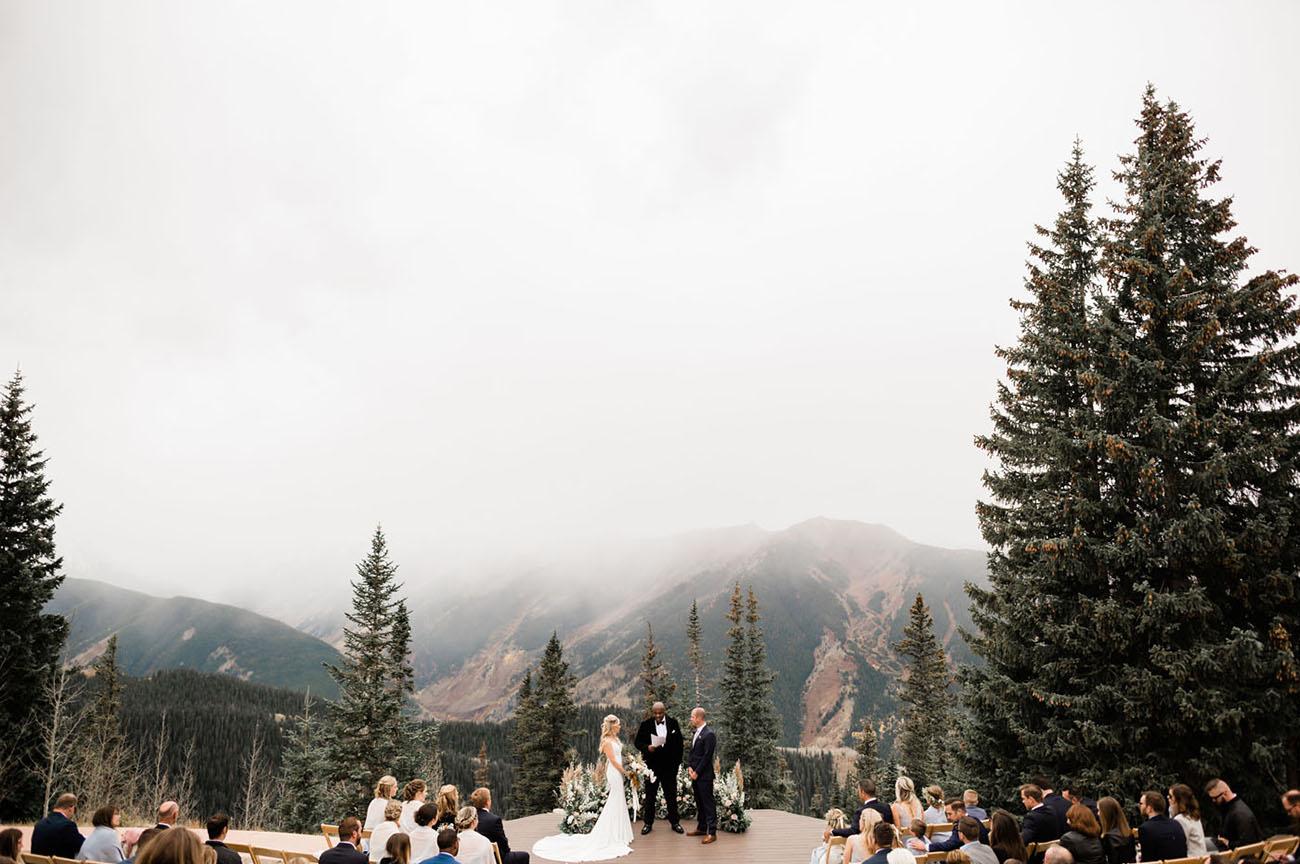 Fall Aspen Colorado Mountain Wedding