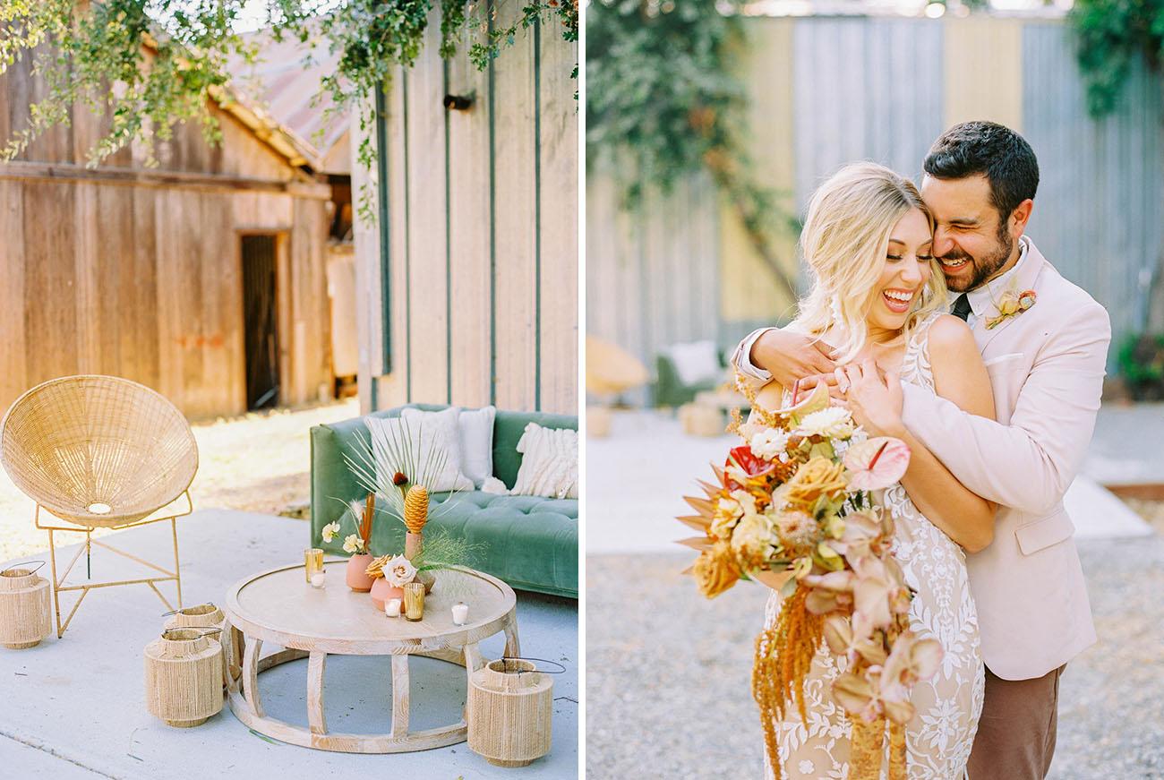 Bohemian Eclectic Wedding Inspiration