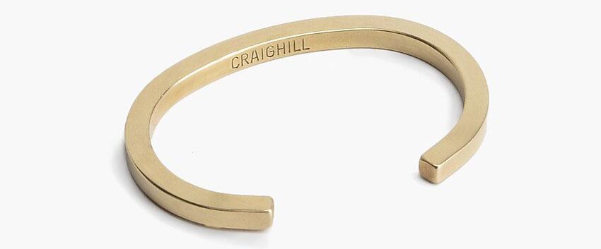 Craighill uniform square cuff bracelet