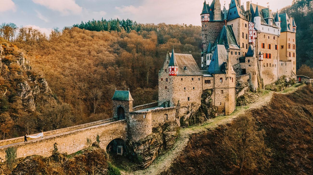 Burg Eltz German Castle Elopement