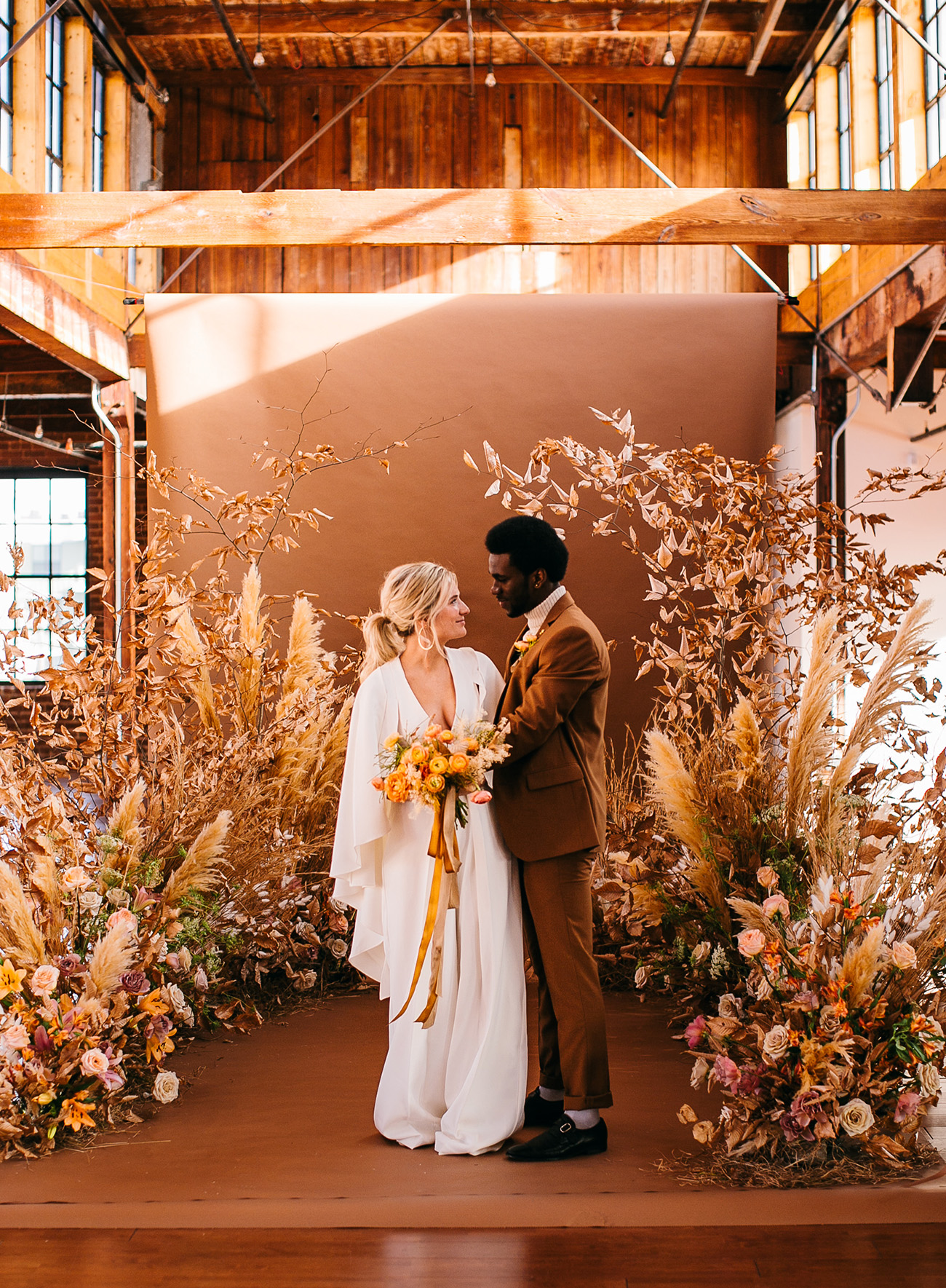Fall Foam Free Floral Ceremony Design