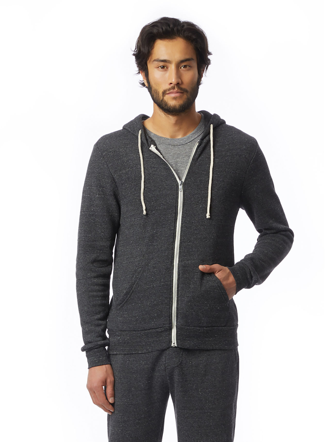 Alternative Apparel grey hoodie