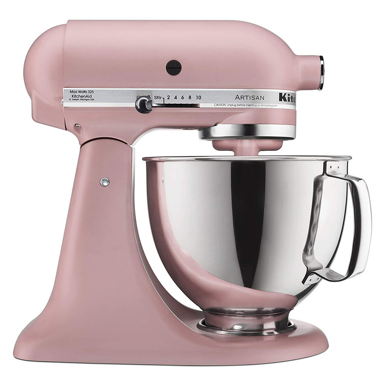 KitchenAid Artisan Stand Mixer 5-quart in Dried Rose