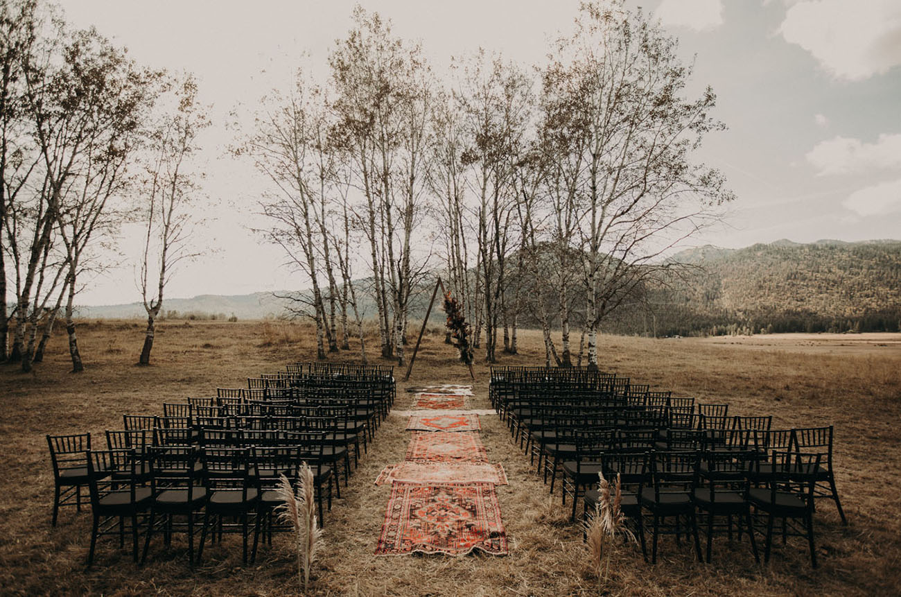 Cascades Idaho Fall Wedding