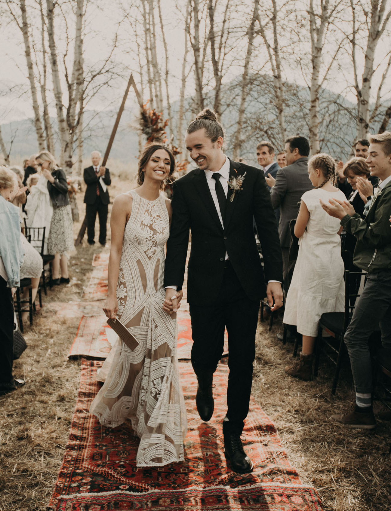 Cascades Idaho Fall Wedding