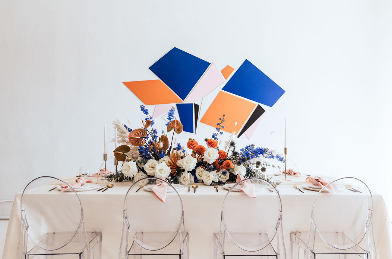 Blue & Orange Color Palette Inspiration