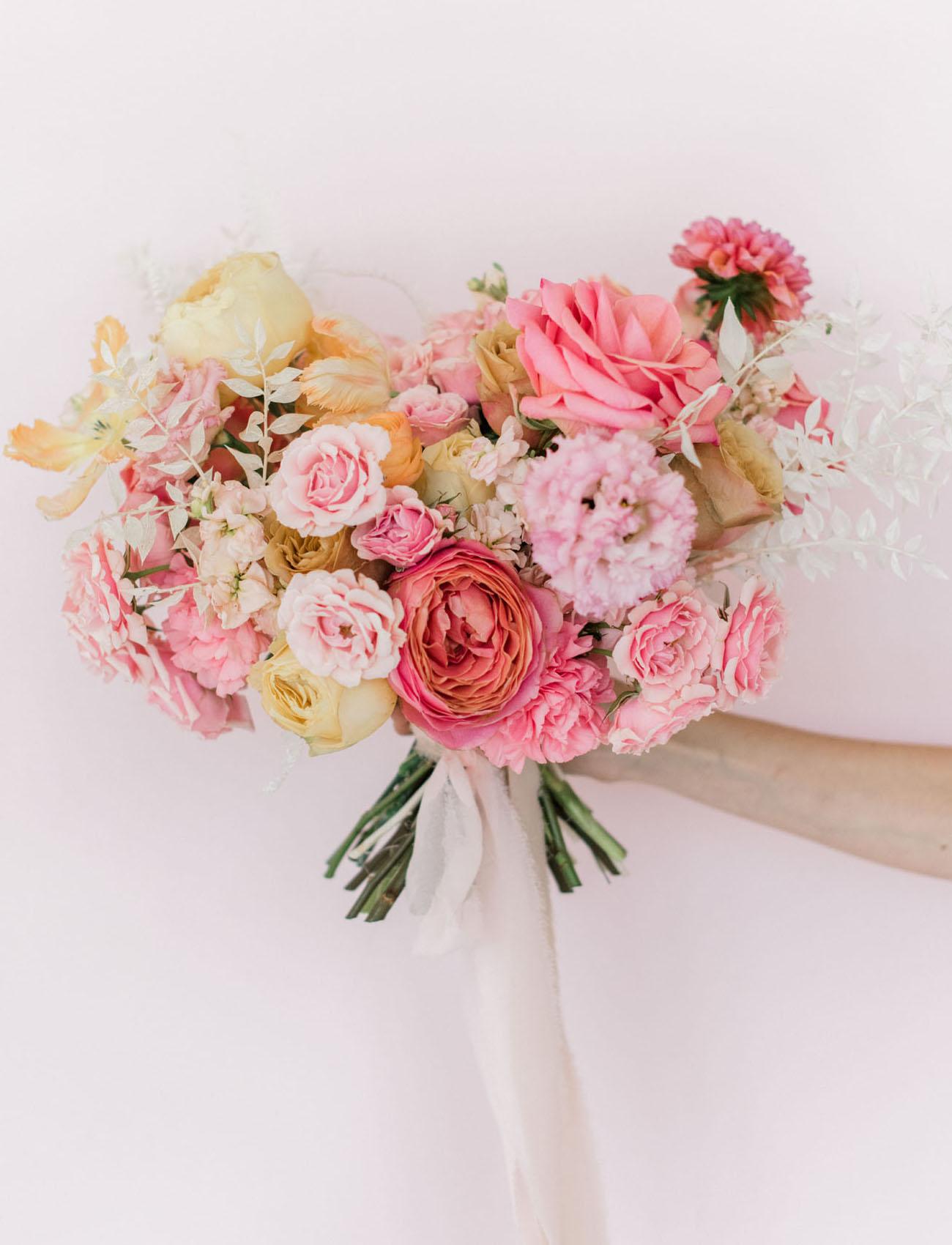 Millennial Pink Bridal Bouquet