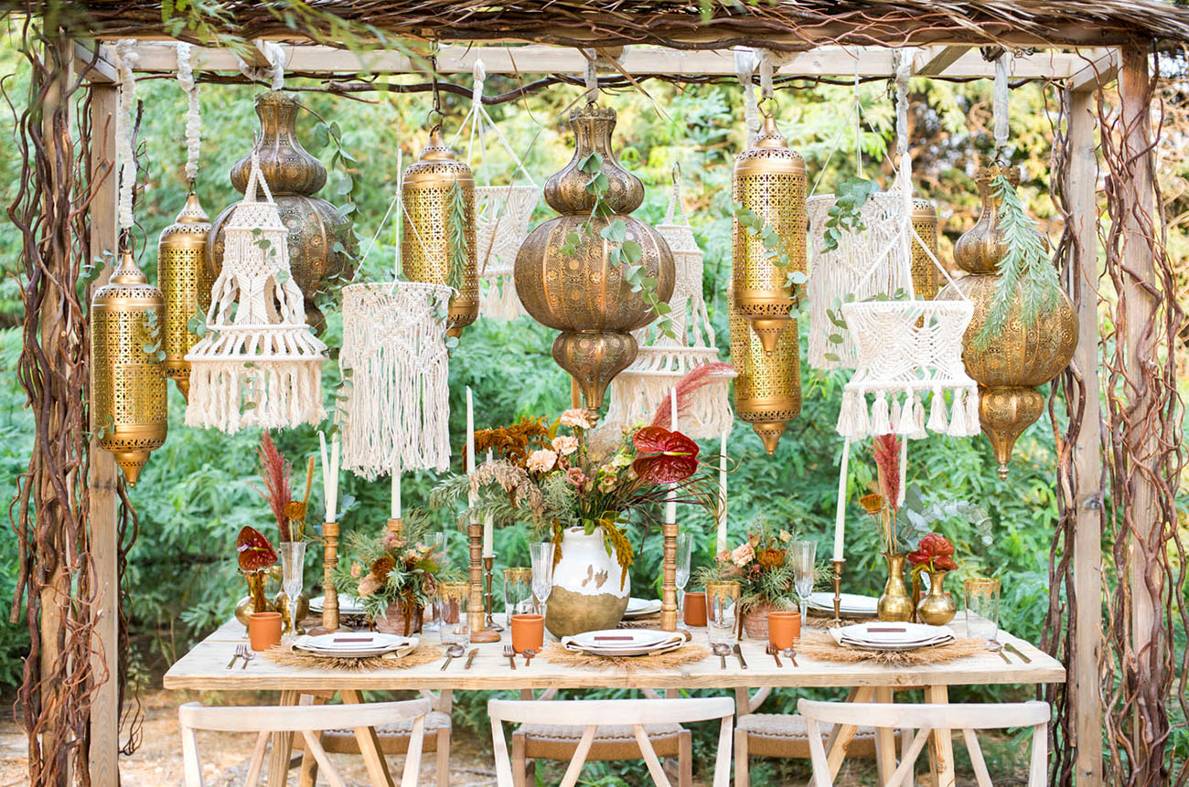 Moroccan Fall Wedding Inspiration