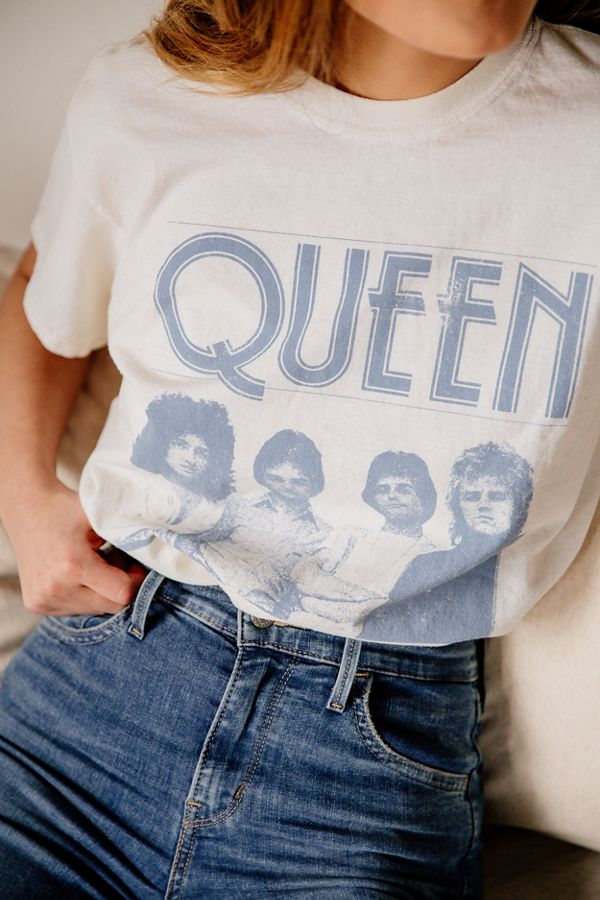 The ultimate band tee: Queen!