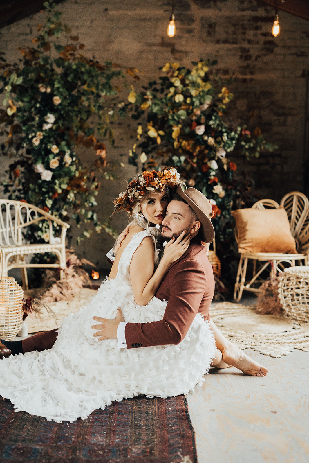 Industrial Autumn Wedding Inspiration
