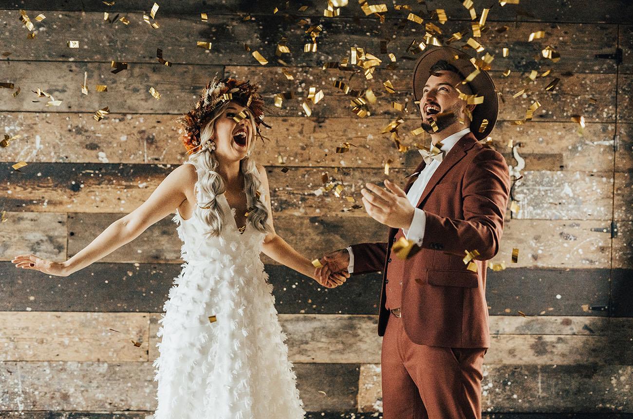 Industrial Autumn Wedding Inspiration