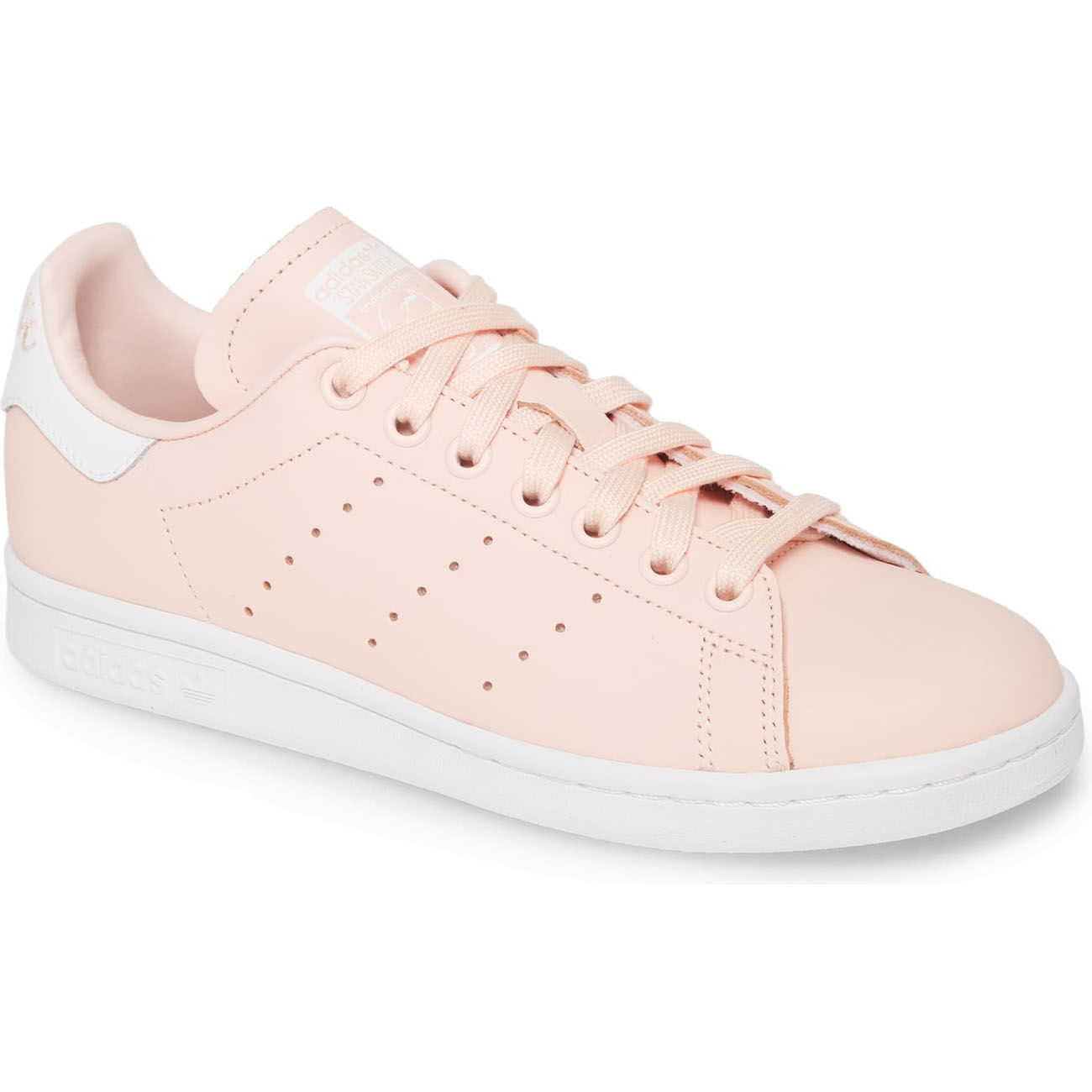 Stan Smith Sneaker in Blush Pink at Nordstrom