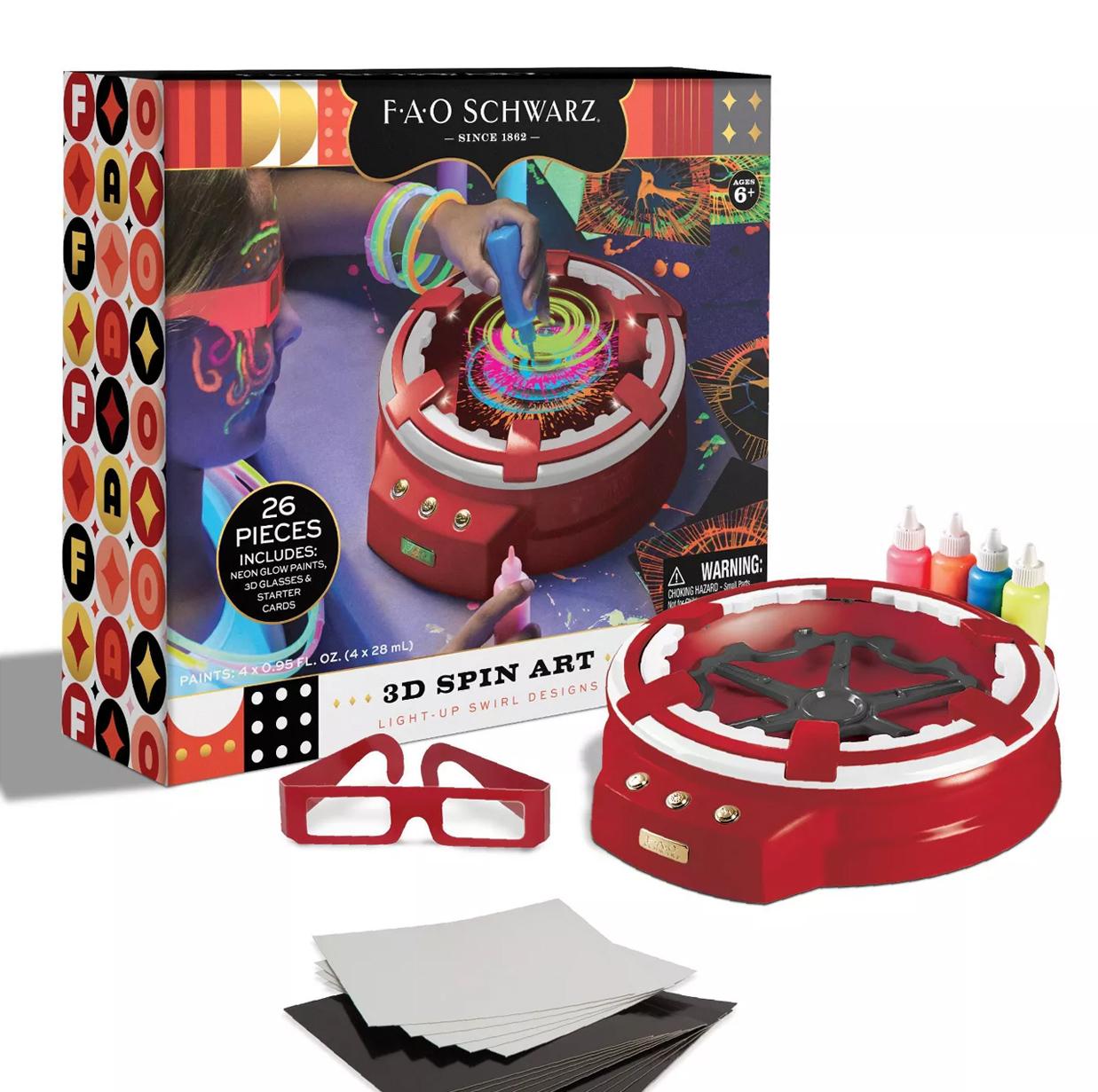 3D Spin Art Kit