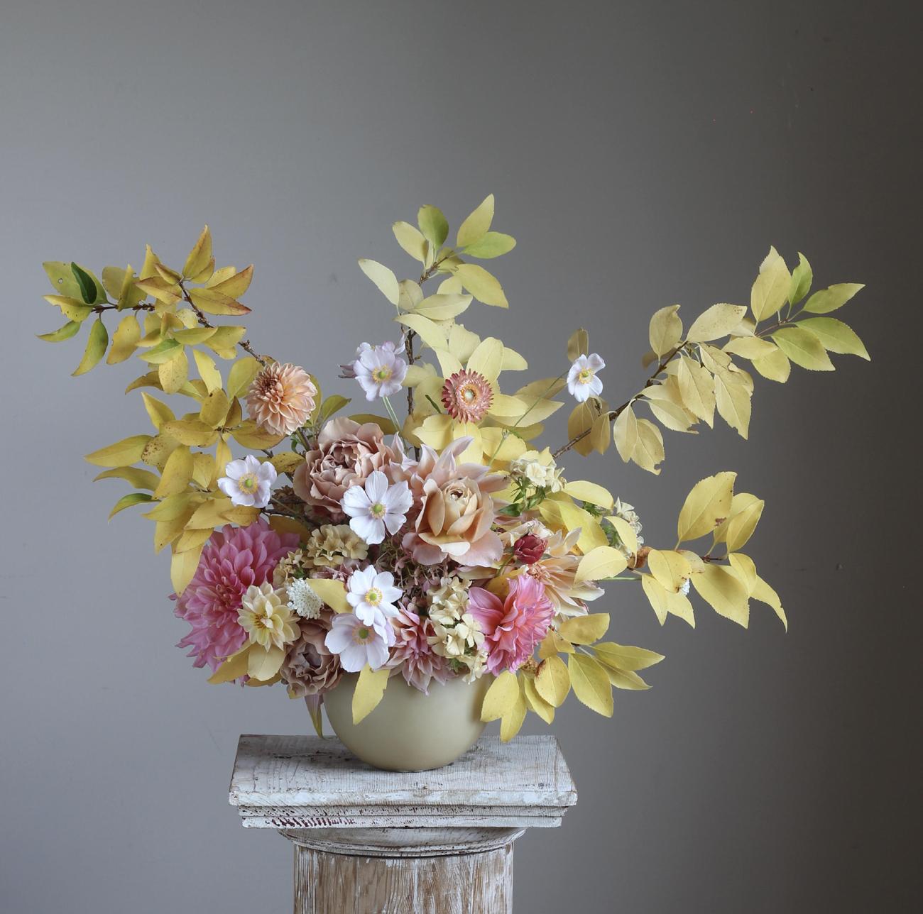 Foam Free Flower Arrangement