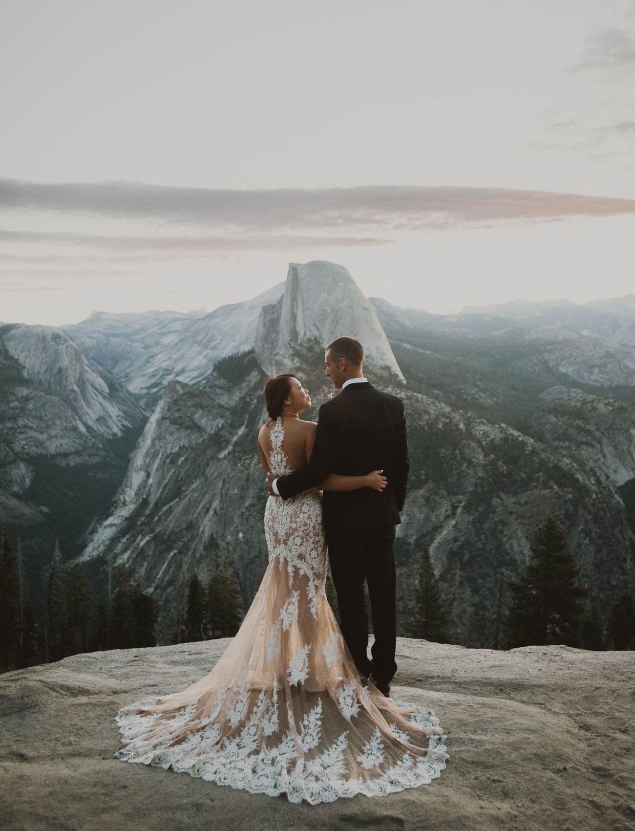 Modern Boho Yosemite Wedding