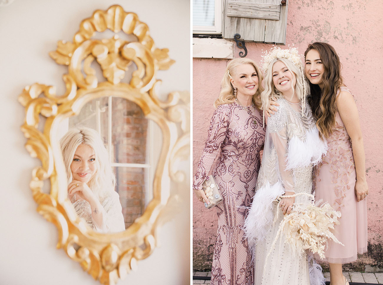 Boho New Orleans Wedding