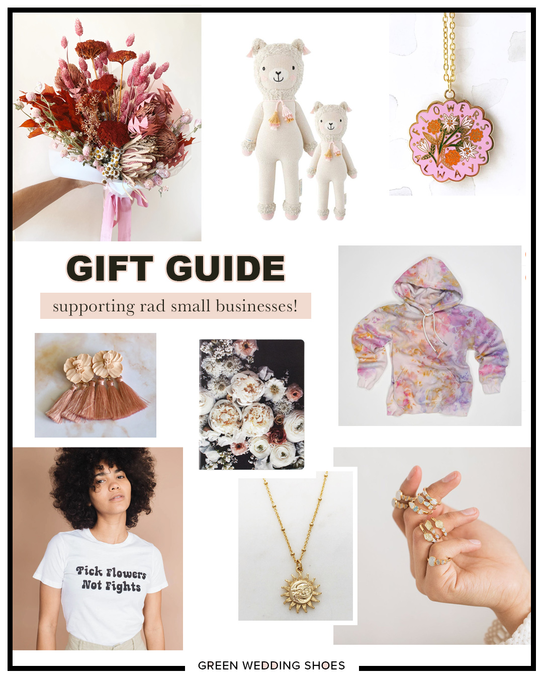 Shop Small 26 Gift Ideas From Small Businesses Green Wedding Shoes
