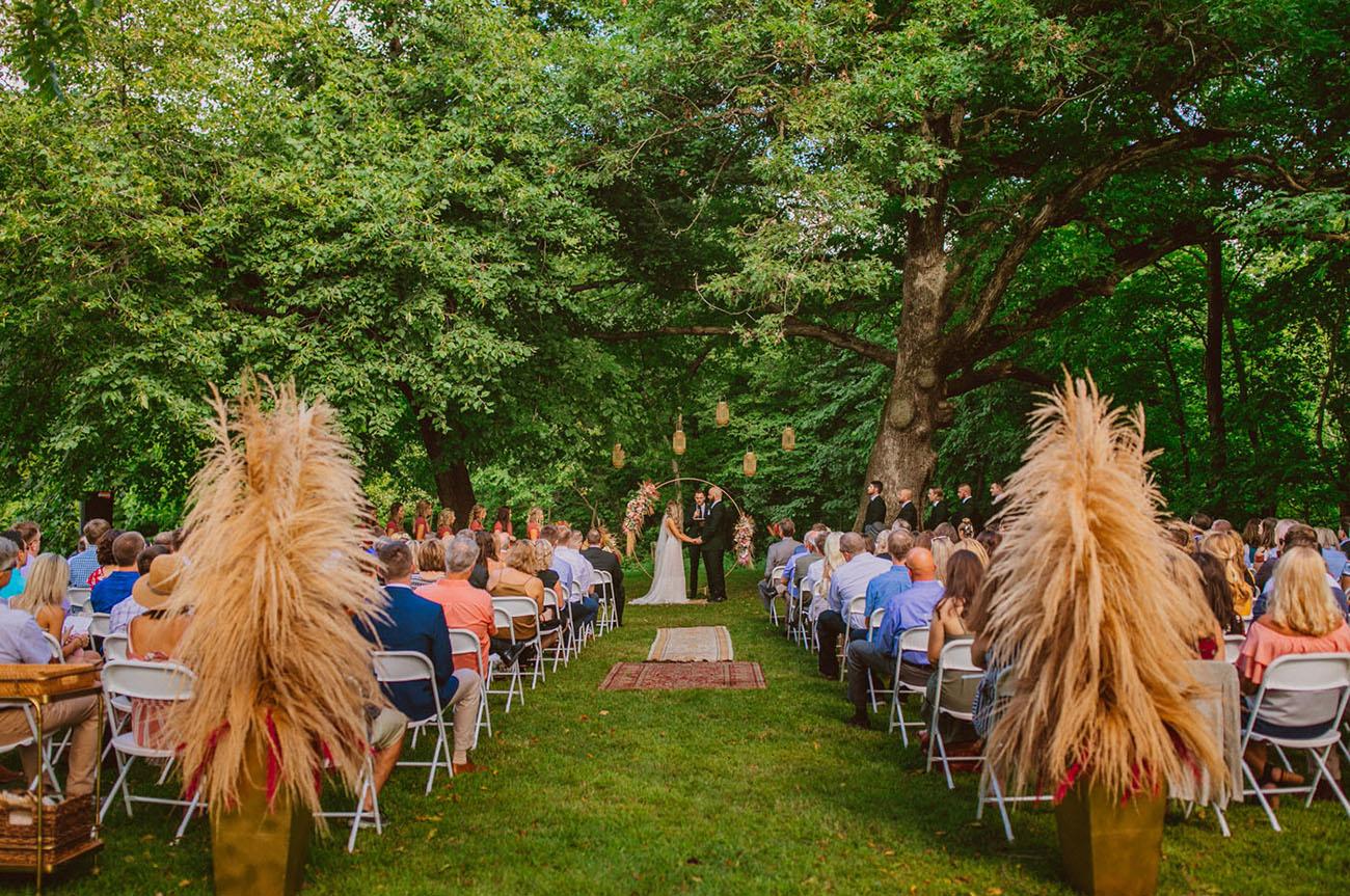 Midwest Boho Wedding