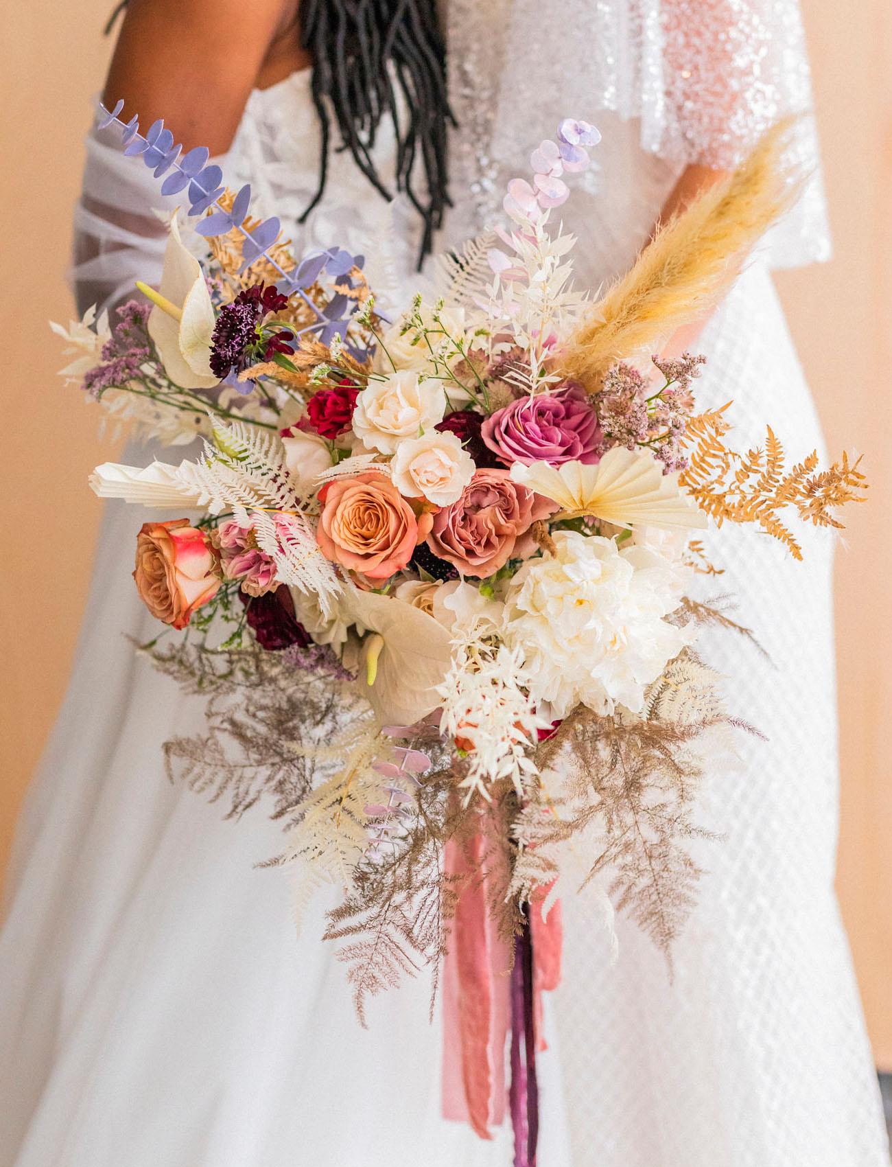 boho floral bouquet