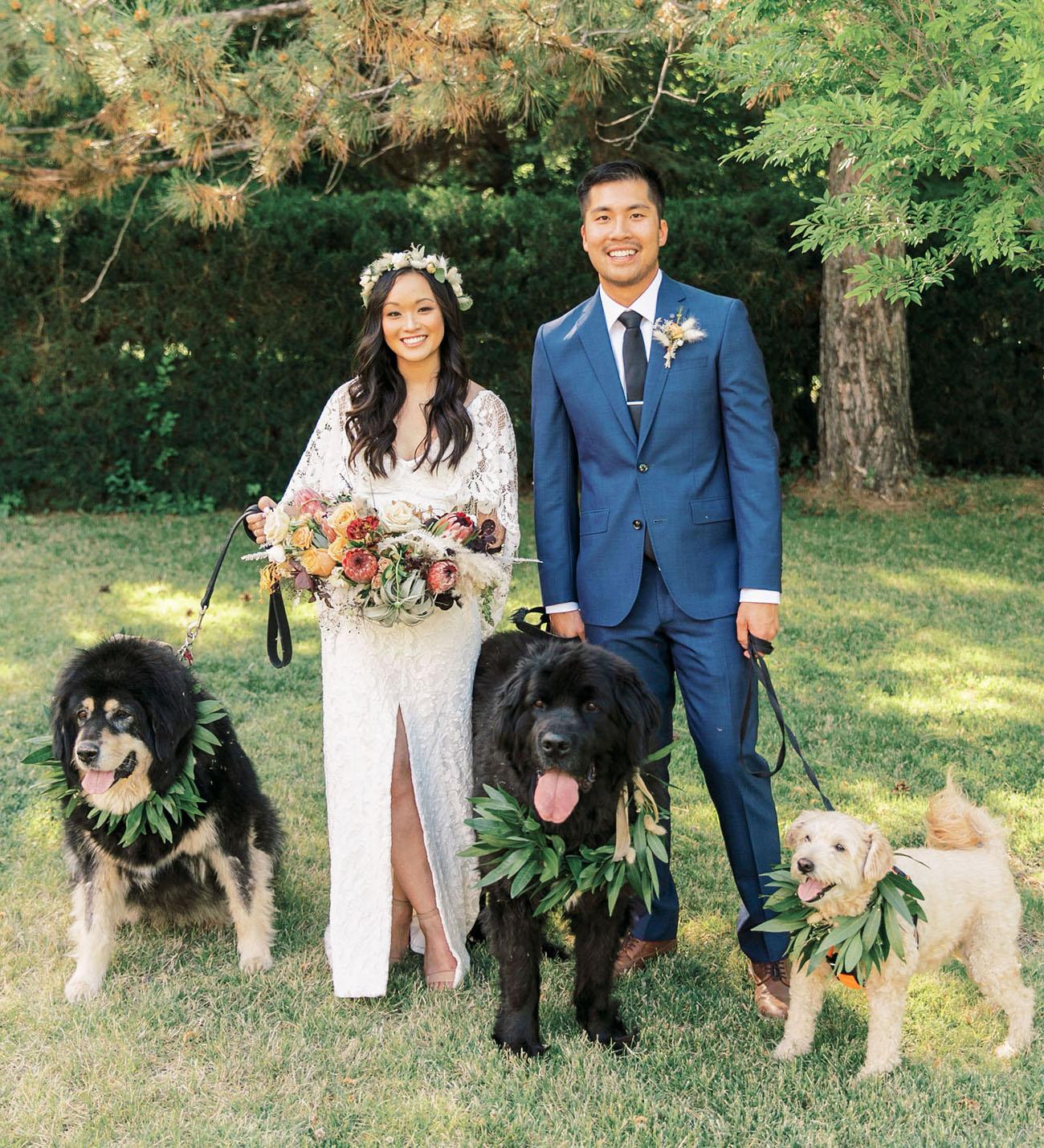 Garden Bohemian Wedding
