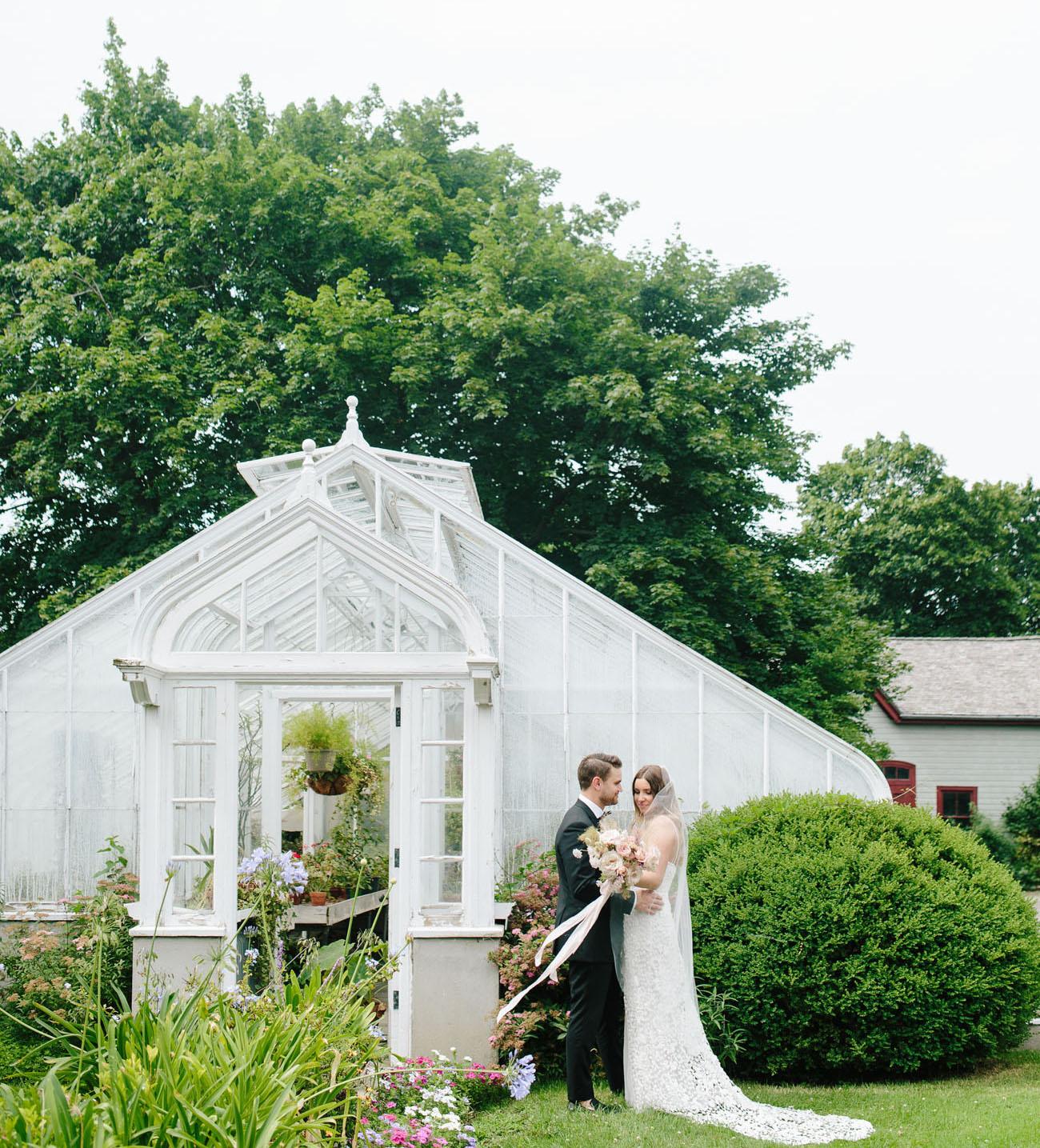 A Lush Industrial Wedding Where Modern Meets Classic