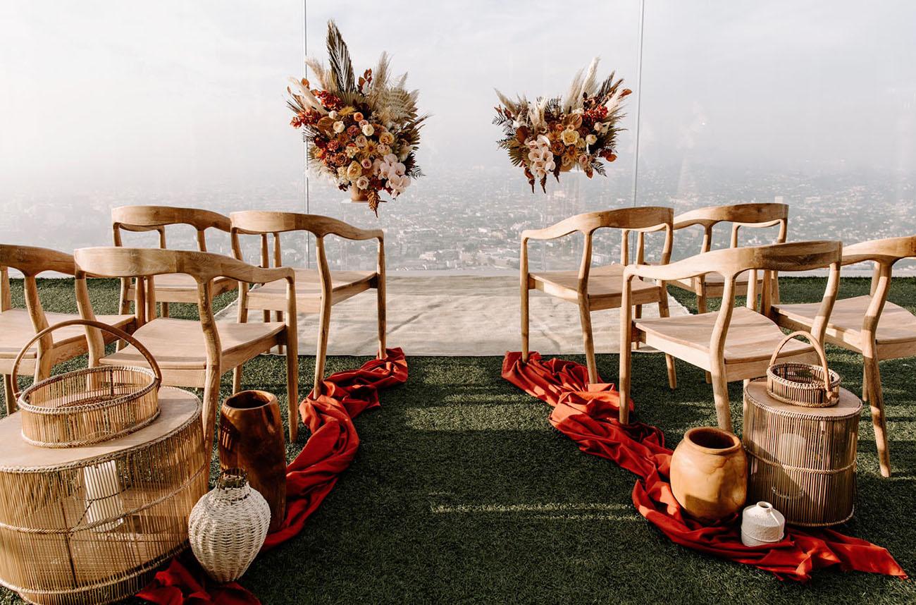 OUE Skyspace LA Wedding Inspiration