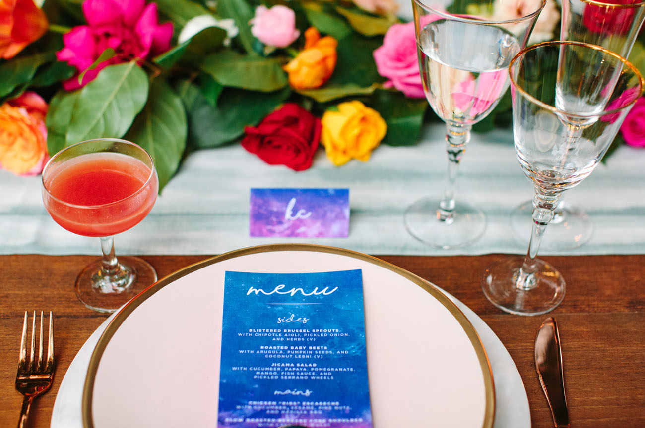 Sailor Moon Inspired Wedding