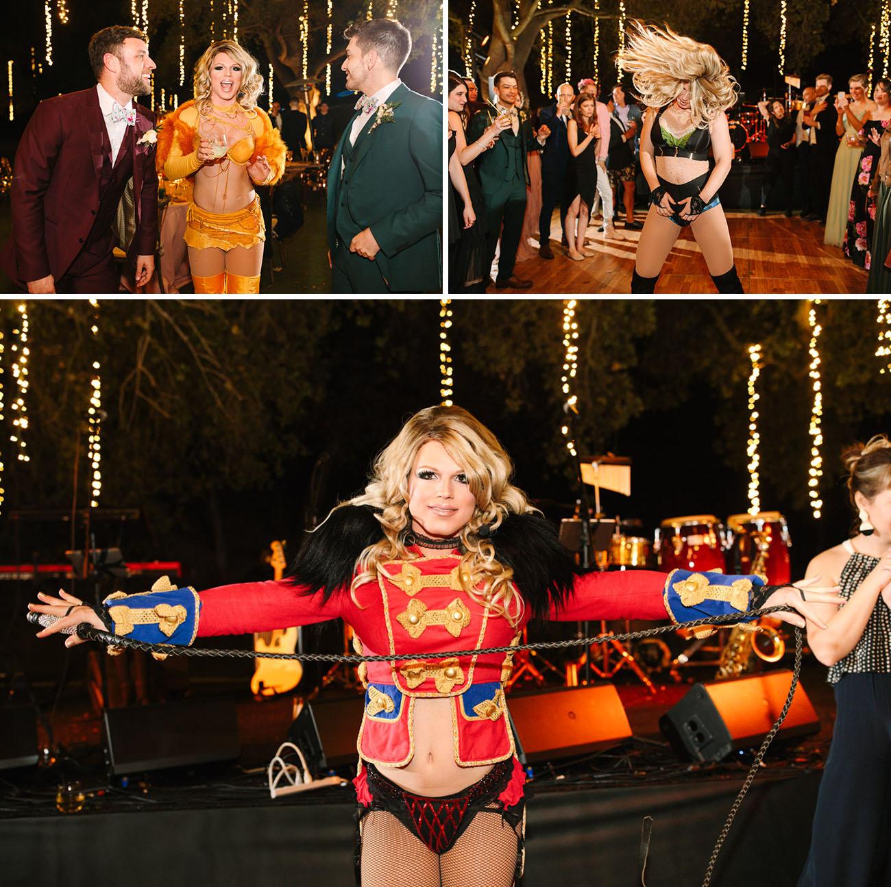 Britney Spears wedding dancer
