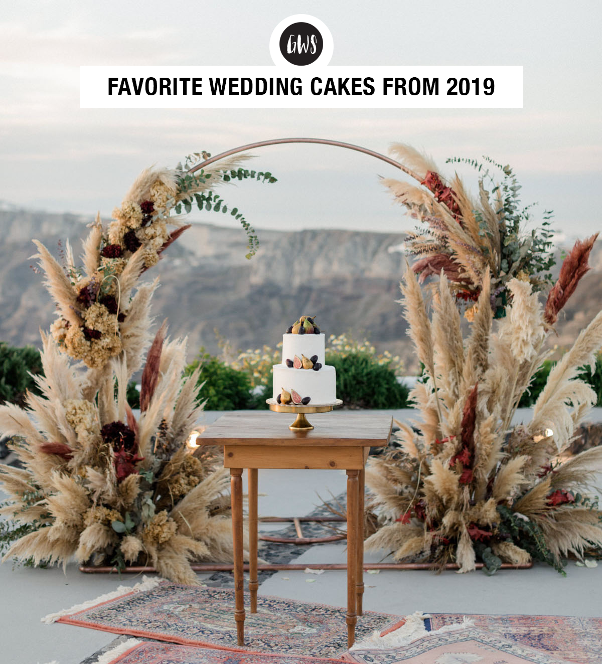 Our Favorite Wedding Cakes from 2019