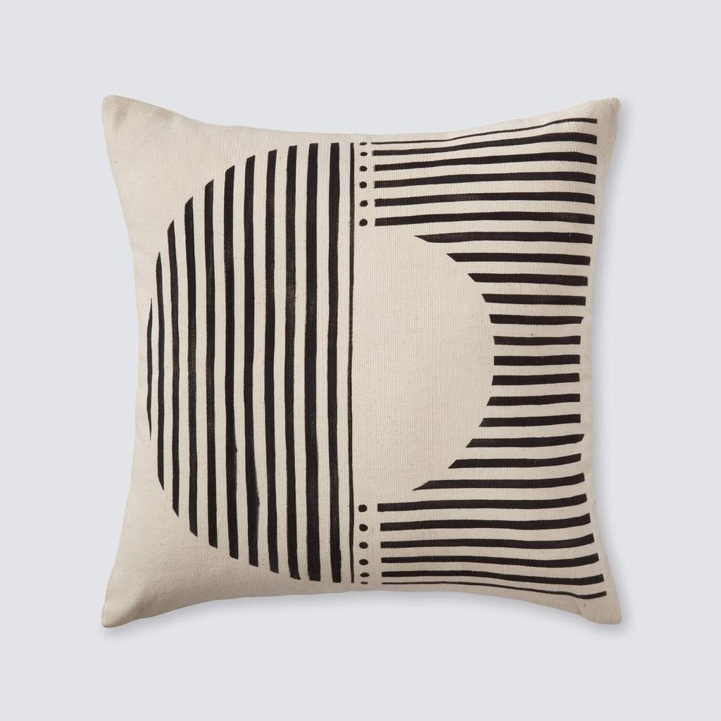 Demi Mud Cloth Pillow from The Citizenry