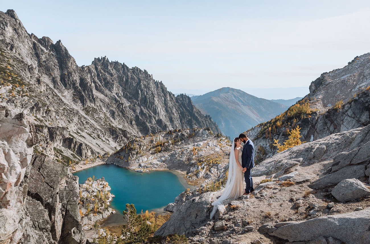 Enchantments Washington Backpack Wedding