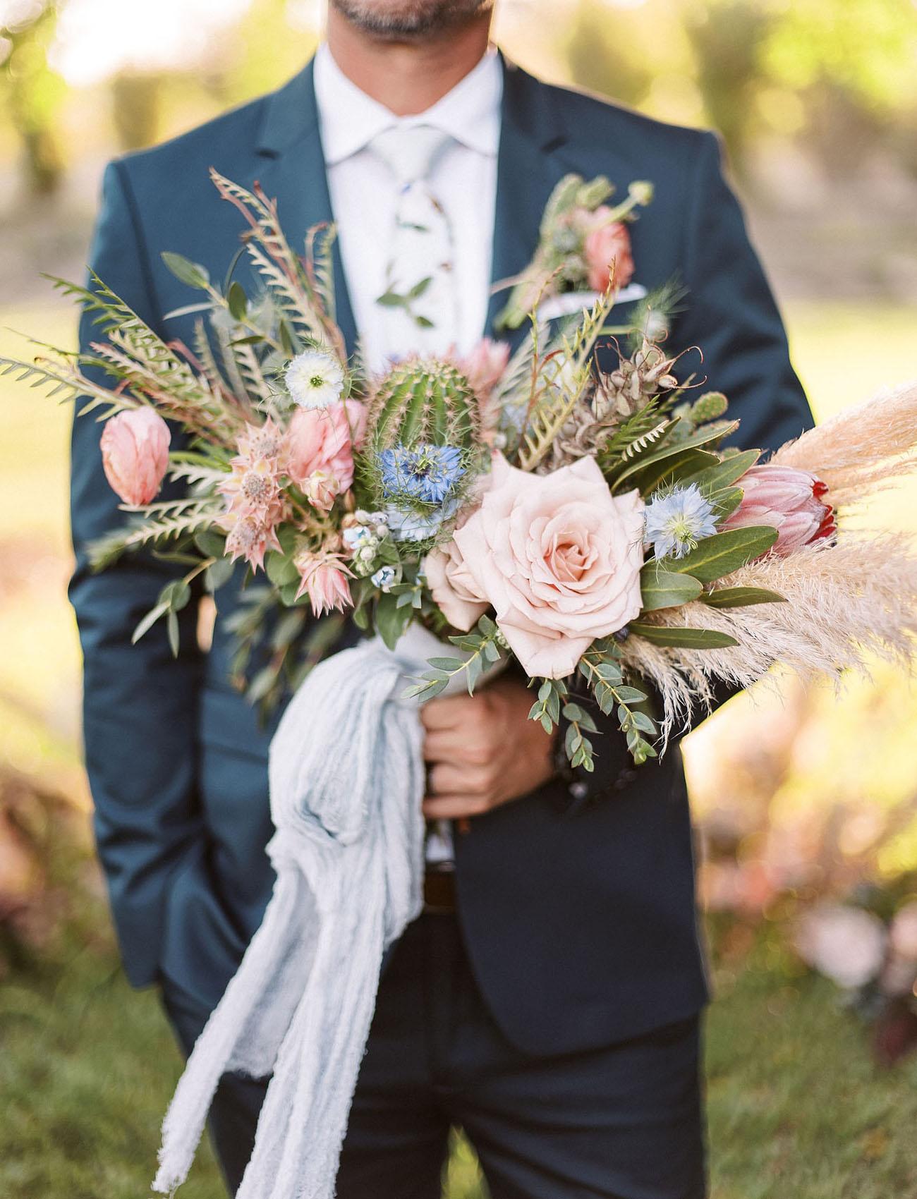 boho inspired bouquet