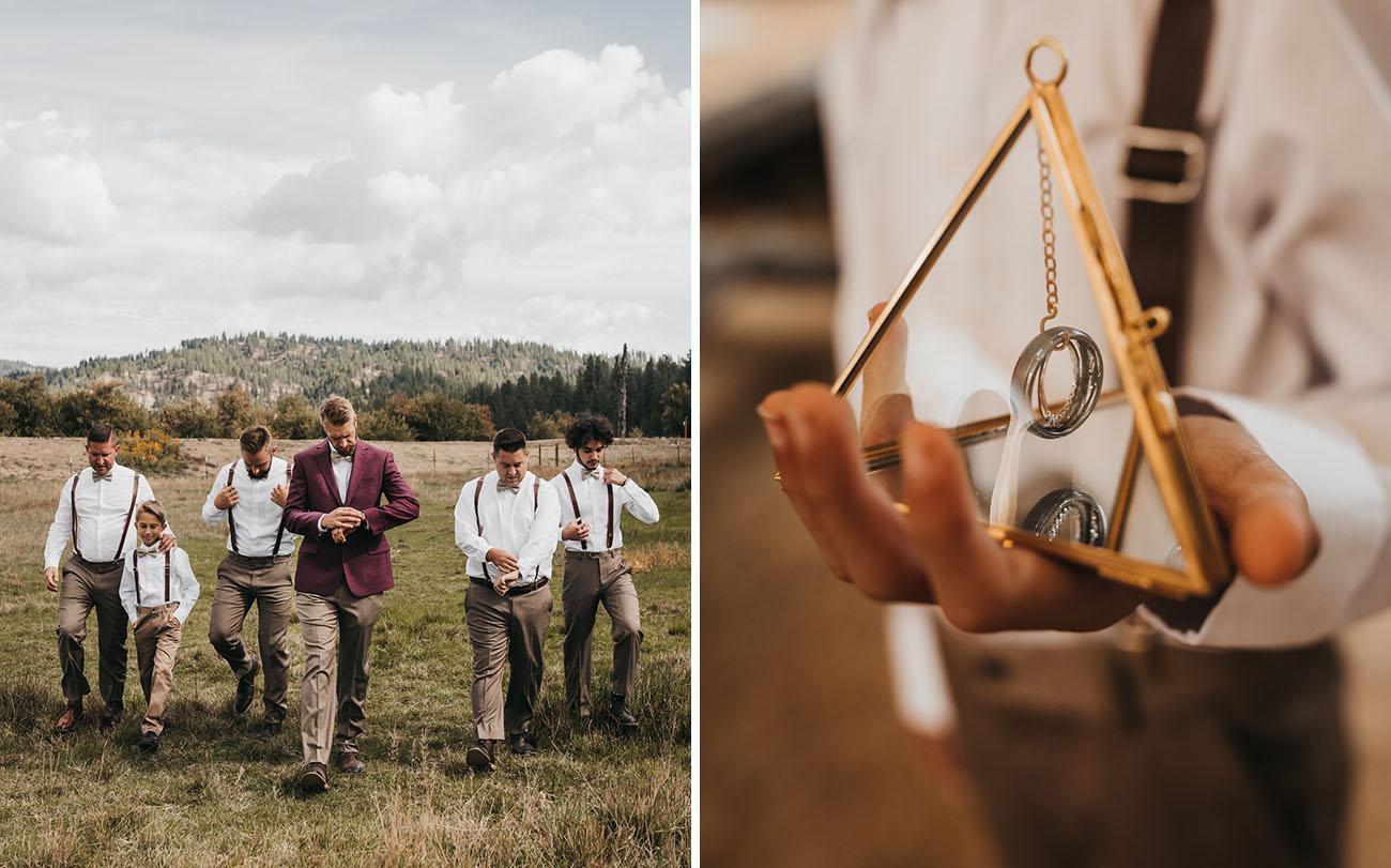 Rustic Boho Idaho Wedding