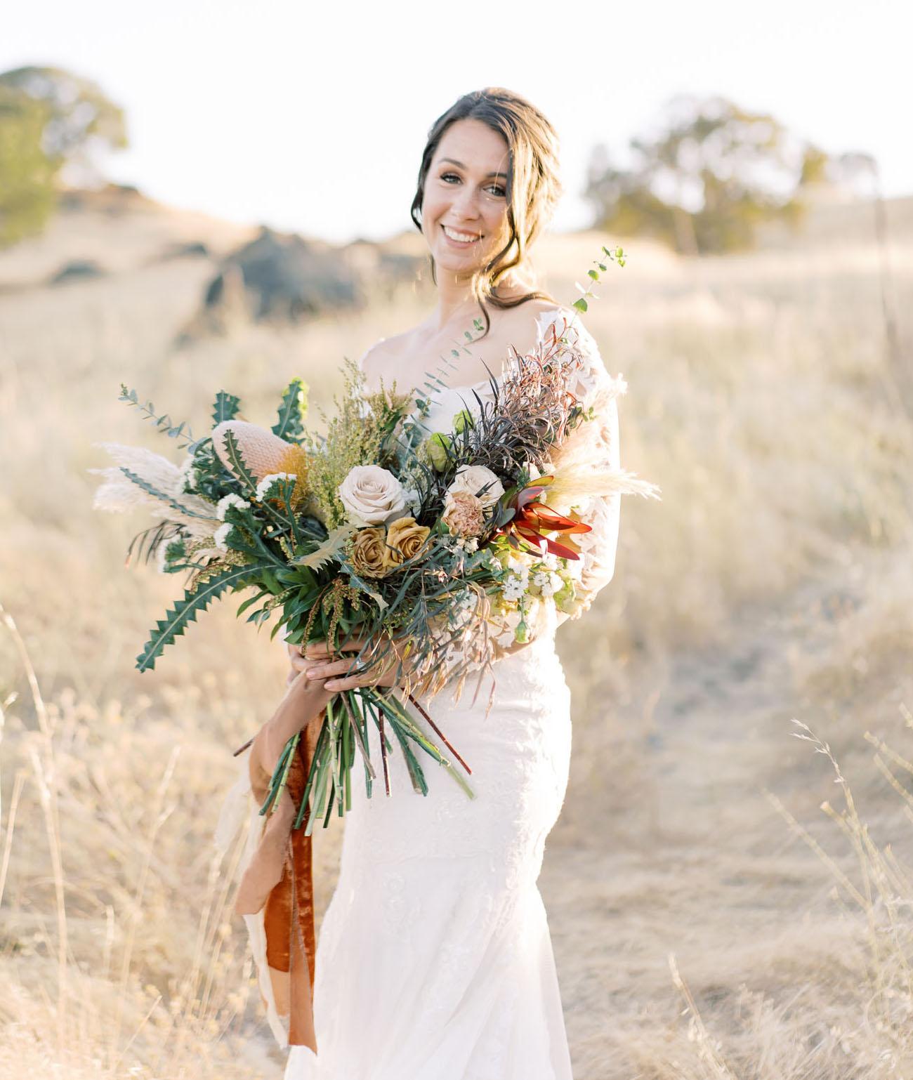 Modern Rustic California Wedding