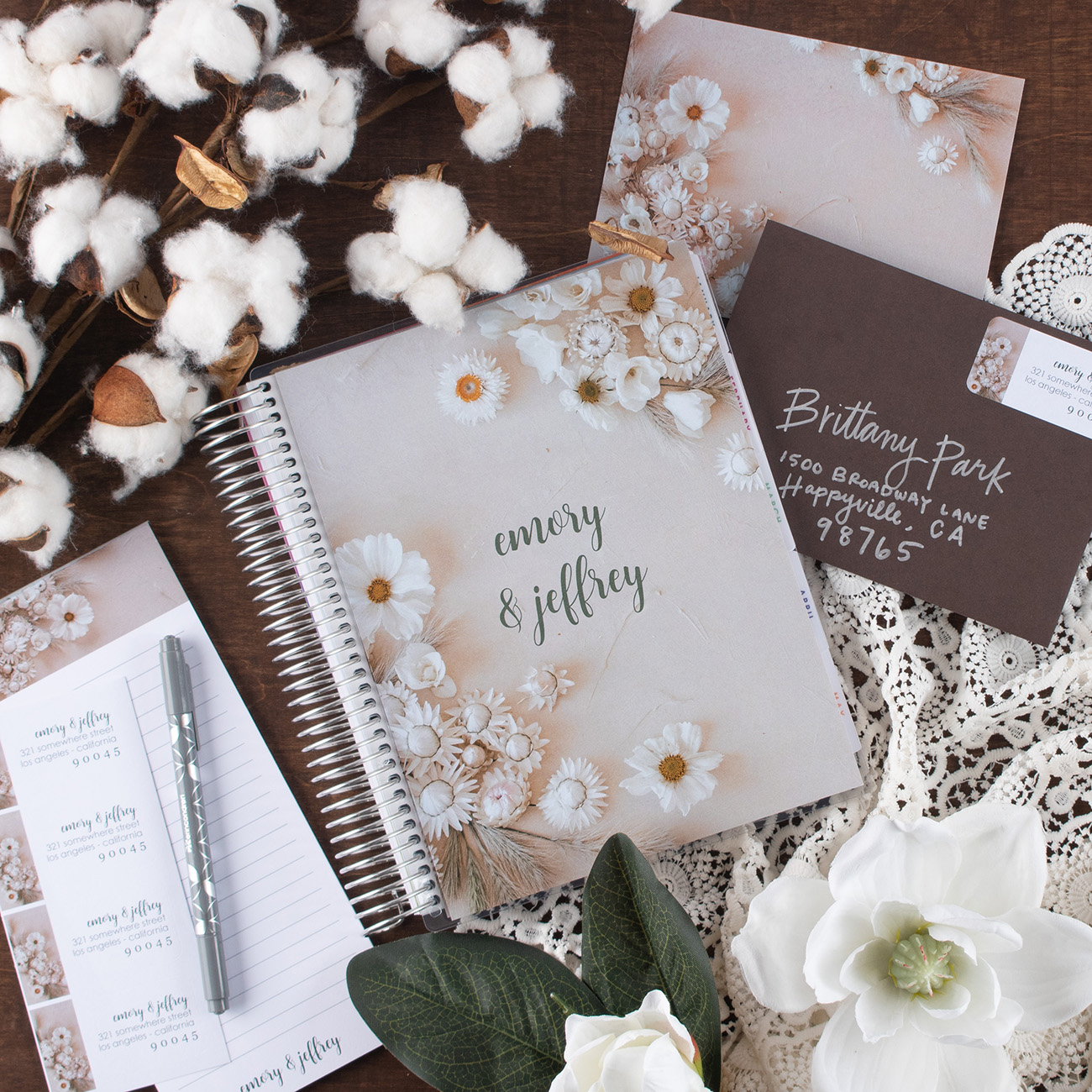"Just Engaged"" 3 Ways the GWS x Erin Condren Wedding Planners Make Planning Easy & Fun!"