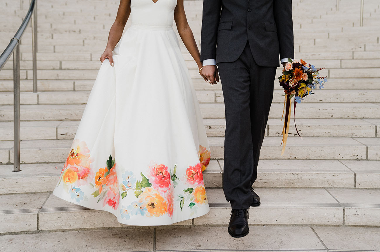 LA Handmade Wedding Dress