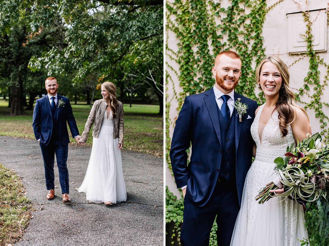 Lush Greenhouse Wedding