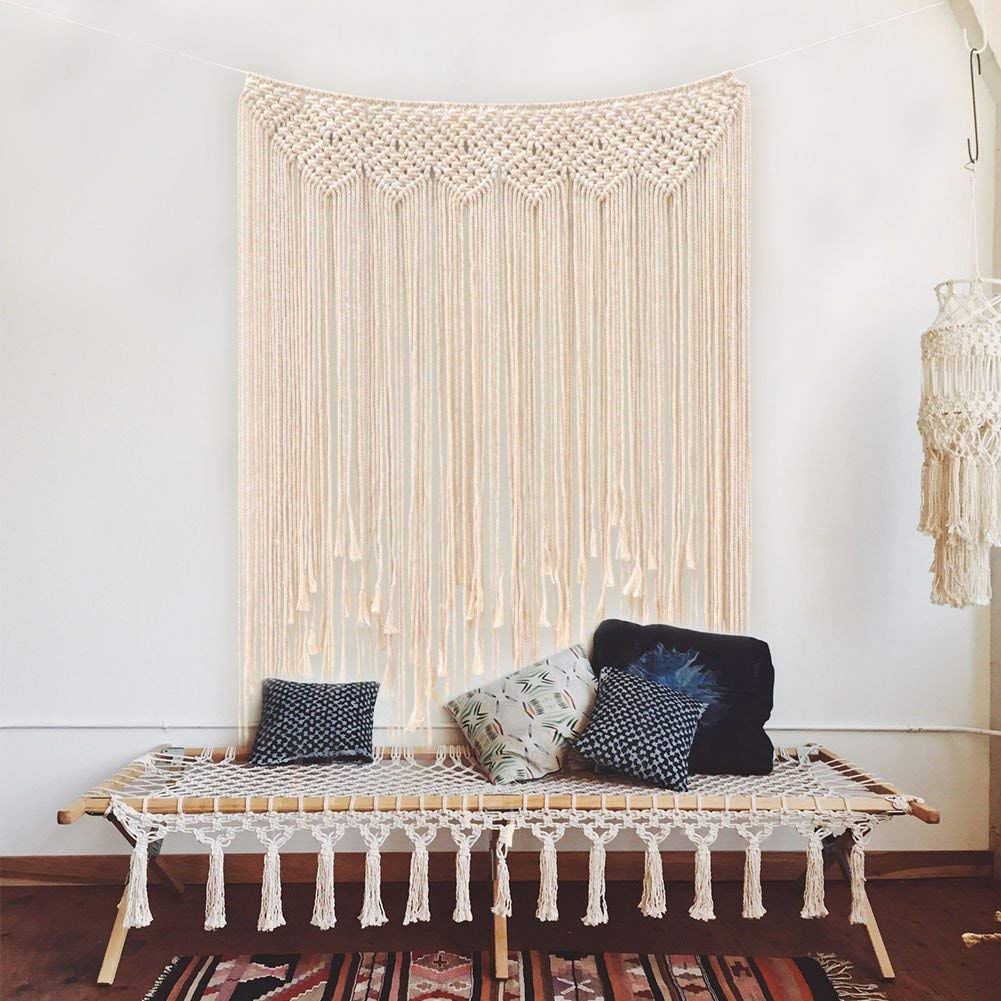 macrame wall hanging found on amazon