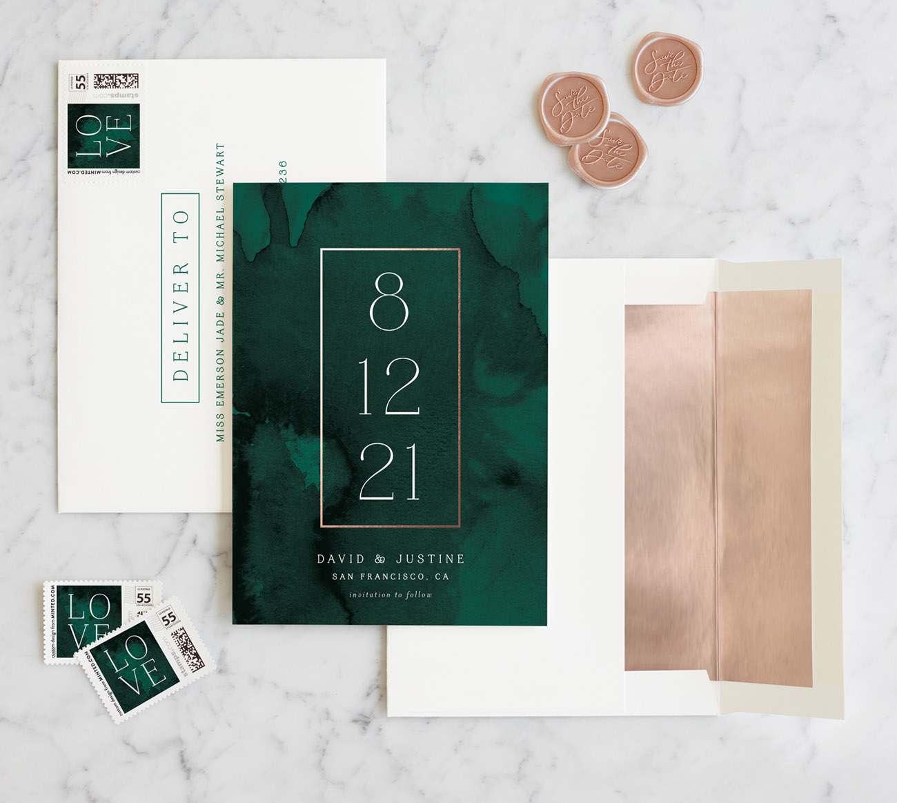 Minted Save the Date Cards for your Wedding
