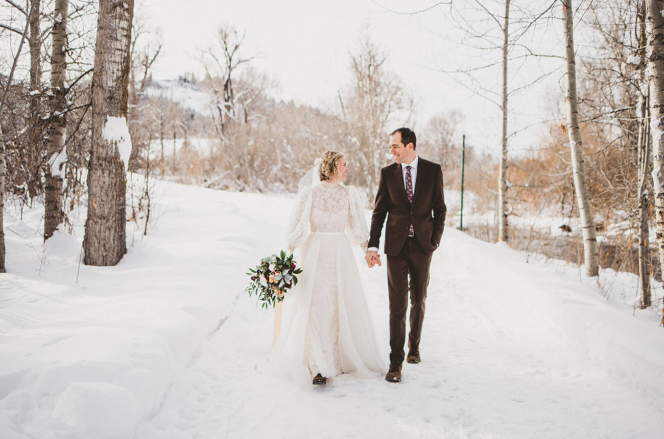 Rebecca Schoneveld's Colorado Elopement