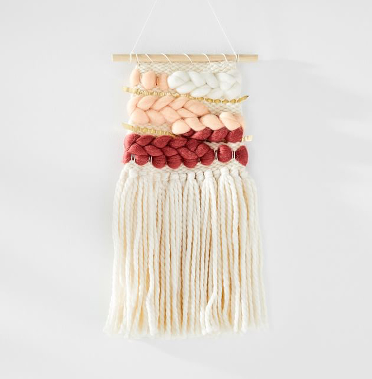 Sunwoven Ombre Wall Hanging - Rose