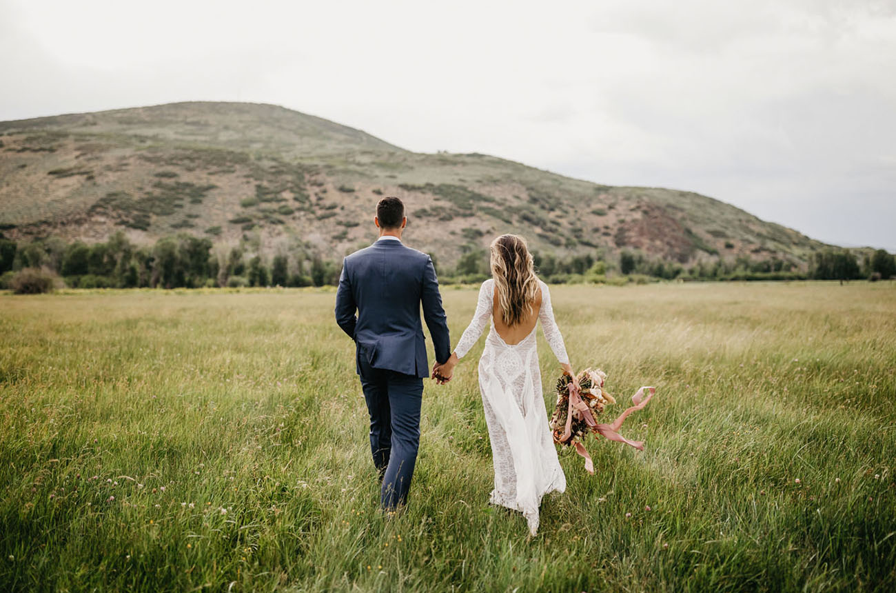 Organic Utah Ranch Wedding