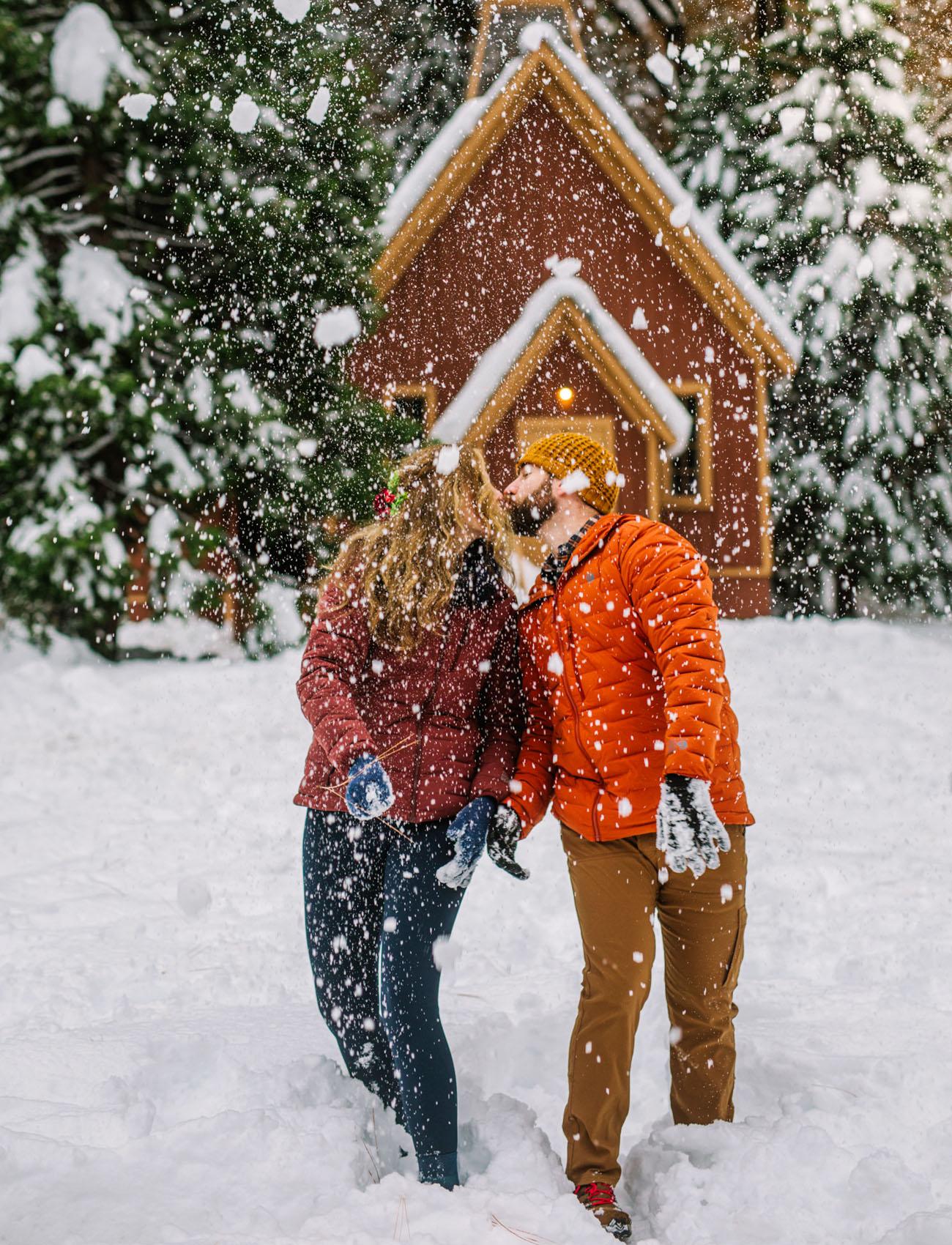 Yosemite Winter Wonderland Elopement