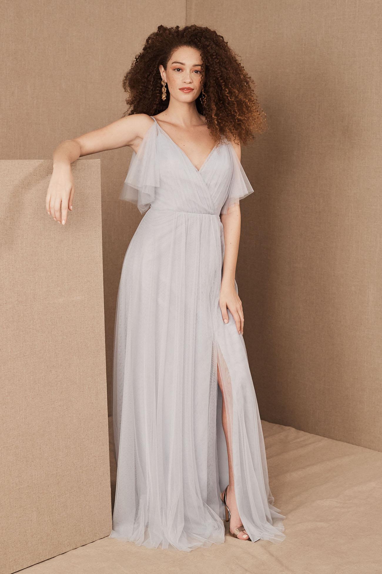 Whisper Blue Bridesmaid Dress
