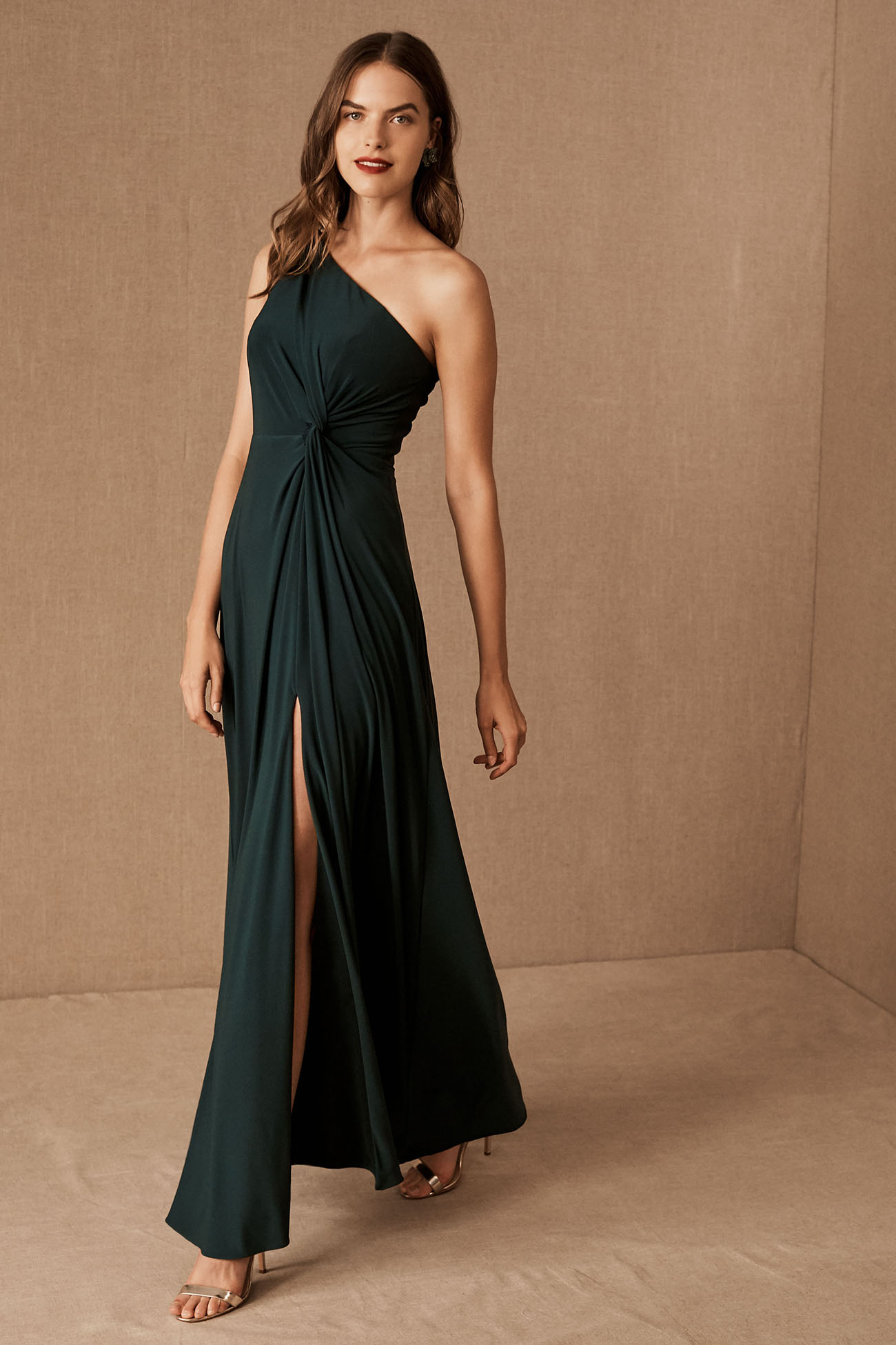 Forest Green Bridesmaid Dress