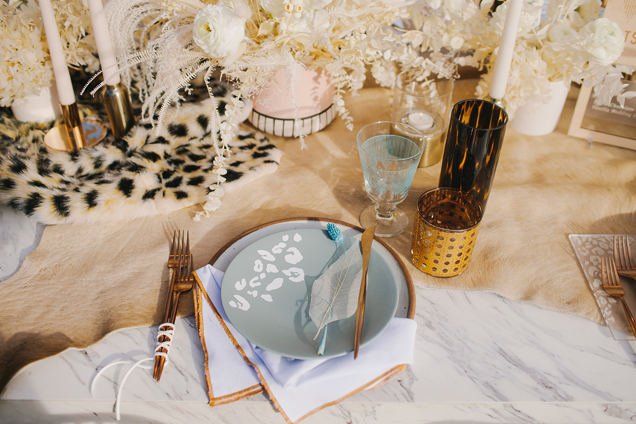 Leopard Print Wedding Details